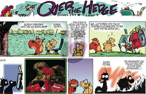 Over the Hedge on Sunday August 30, 2020 Comic Strip