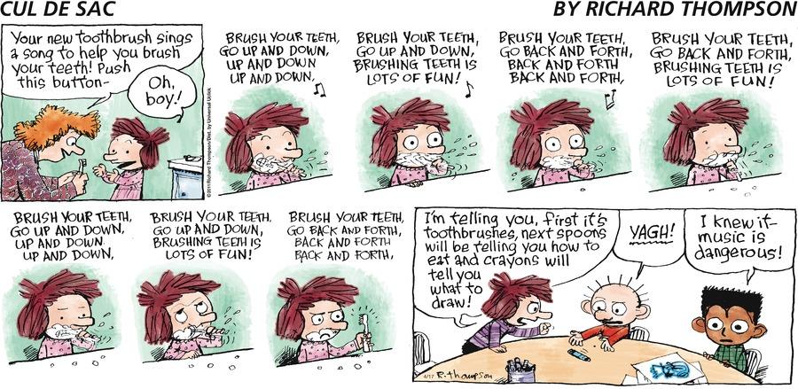 Cul de Sac Comic Strip for April 17, 2011