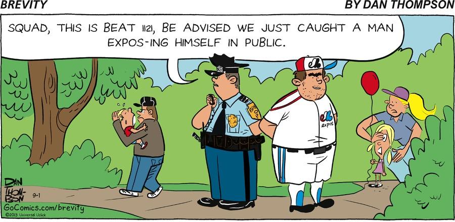 Brevity for Sep 1, 2013 Comic Strip