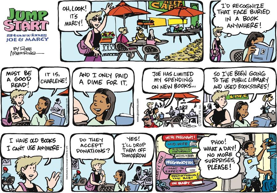 JumpStart for Apr 13, 2014 Comic Strip
