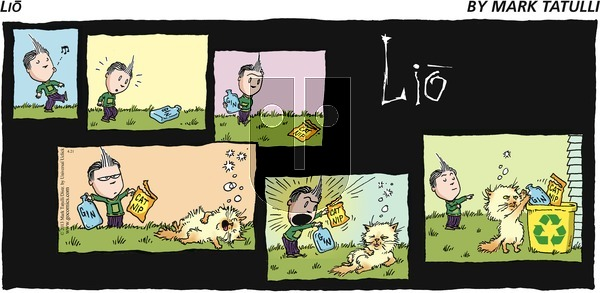 Lio on Sunday April 21, 2013 Comic Strip