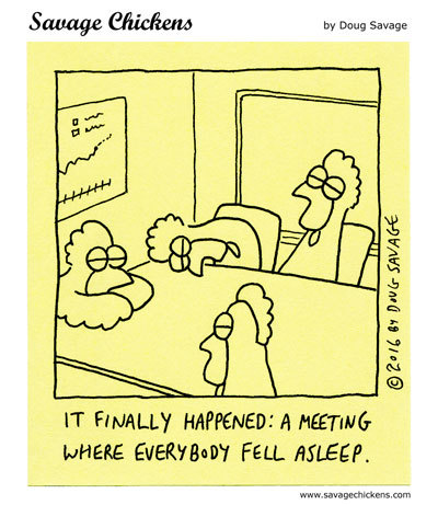 Savage Chickens Comic Strip for June 04, 2020