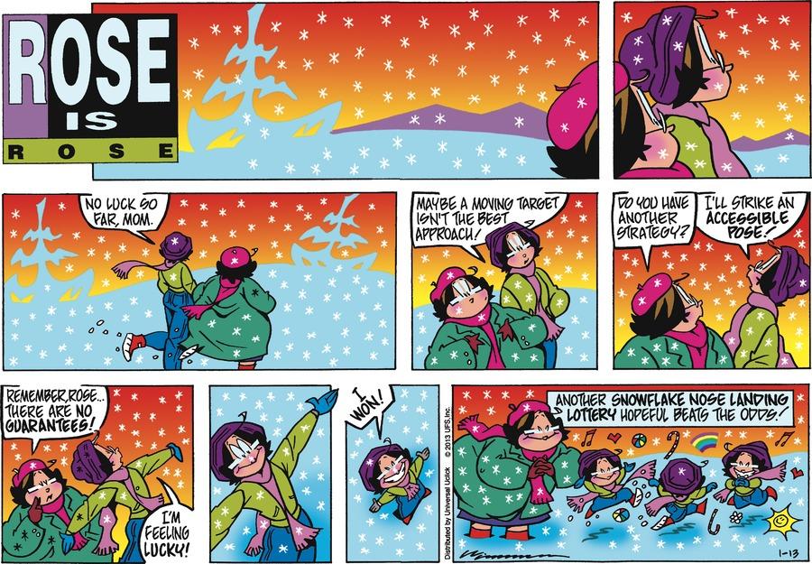 Rose is Rose for Jan 13, 2013 Comic Strip