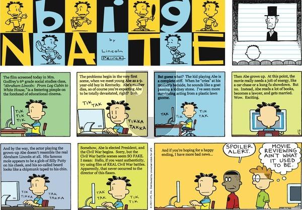 Big Nate on October 4, 2015 Comic Strip