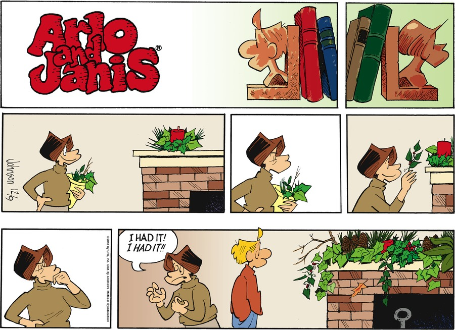 Arlo and Janis by Jimmy Johnson for December 09, 2018