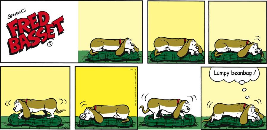 Fred Basset Comic Strip for November 23, 2014
