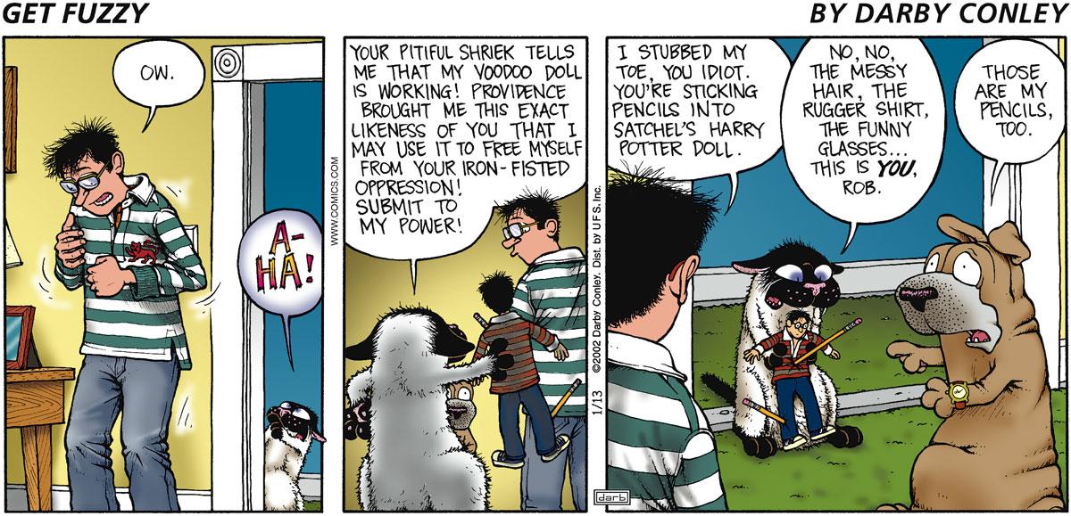 Get Fuzzy for Nov 13, 2002 Comic Strip