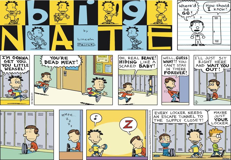 Big Nate Comic Strip for December 15, 2019