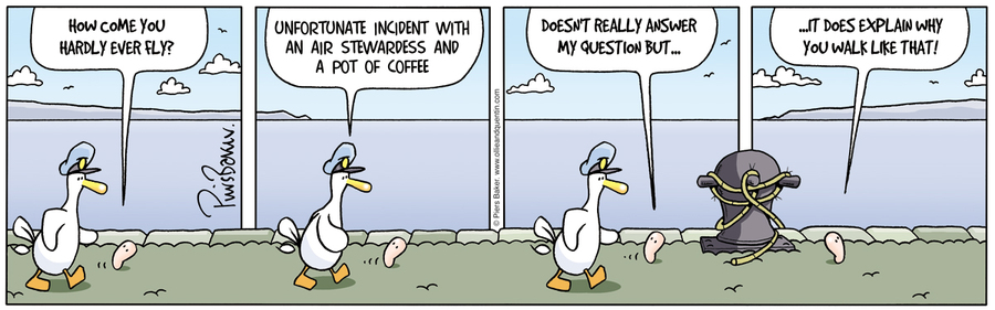 Ollie and Quentin for Aug 8, 2012 Comic Strip