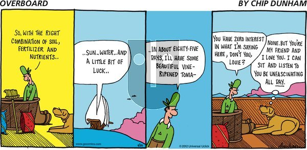 Overboard on Sunday April 29, 2012 Comic Strip