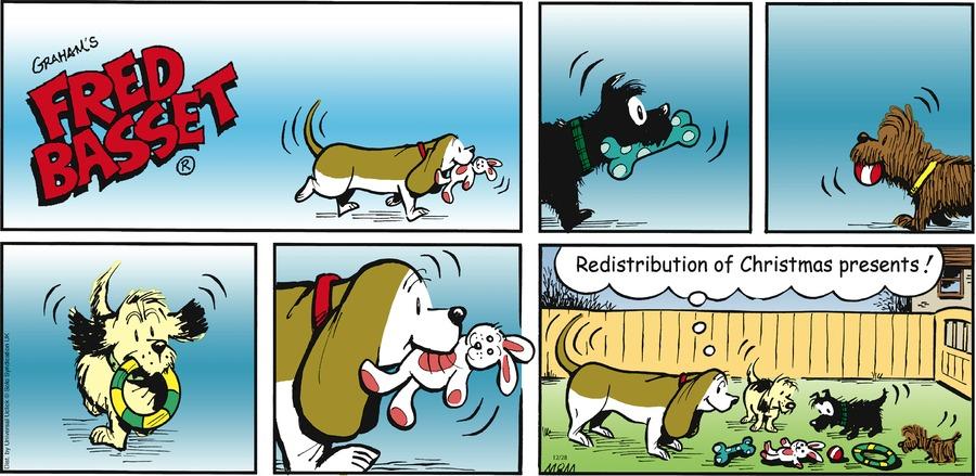 Fred Basset Comic Strip for December 28, 2014