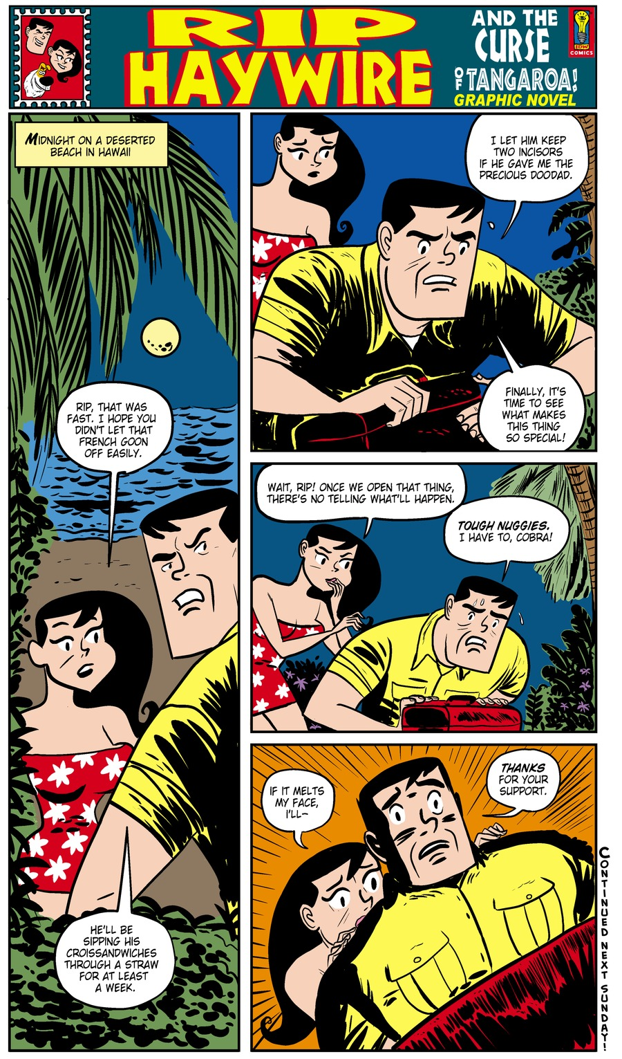 Rip Haywire Comic Strip for December 01, 2013