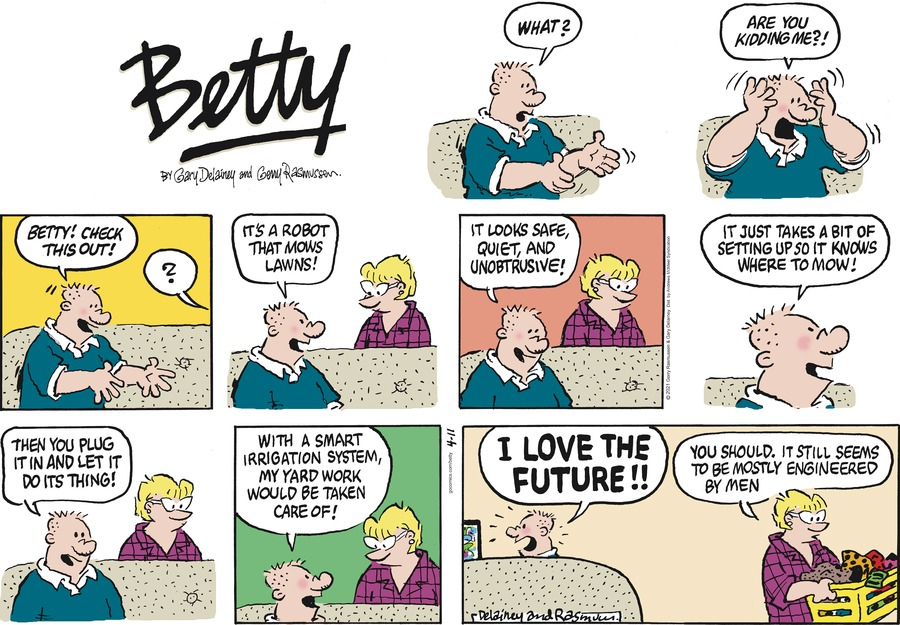 Betty Comic Strip for April 11, 2021