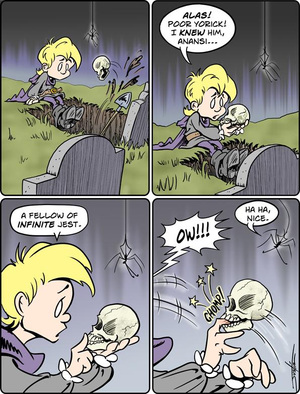 MythTickle Comic Strip for October 15, 2018