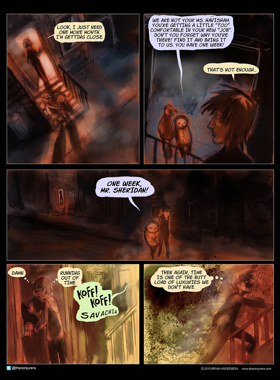 The Conjurers for Apr 6, 2014 Comic Strip