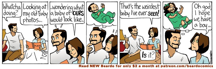 Beardo by Dan Dougherty on Mon, 10 May 2021