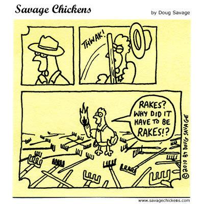 Savage Chickens for Nov 25, 2014 Comic Strip