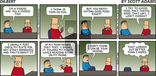 Dilbert on Sunday March 31, 2019 Comic Strip