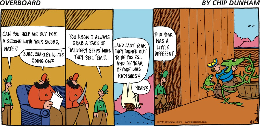 Overboard for Aug 18, 2013 Comic Strip