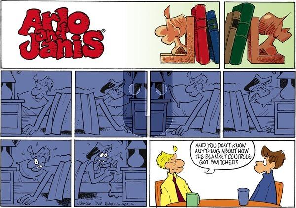 Arlo and Janis on Sunday November 20, 2005 Comic Strip
