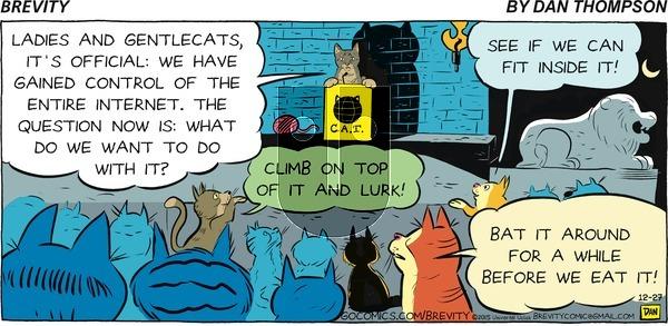 Brevity on Sunday December 27, 2015 Comic Strip