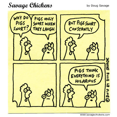 Savage Chickens for Apr 23, 2014 Comic Strip
