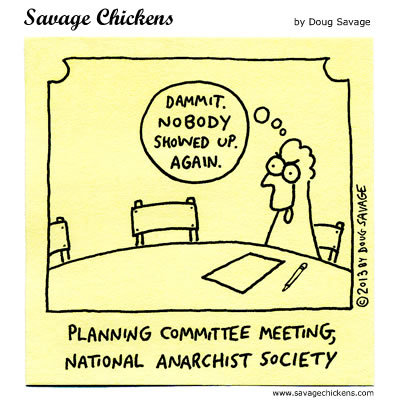 Savage Chickens Comic Strip for December 01, 2017