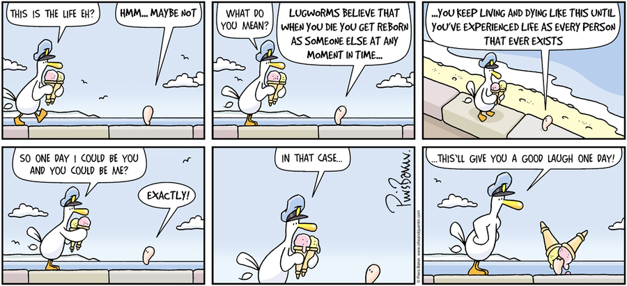 Ollie and Quentin for Aug 12, 2012 Comic Strip