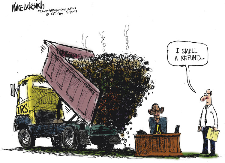 Mike Luckovich Comic Strip for May 15, 2013