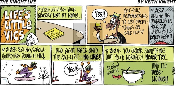 The Knight Life on Sunday March 24, 2019 Comic Strip