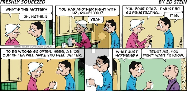Freshly Squeezed on Sunday March 15, 2020 Comic Strip