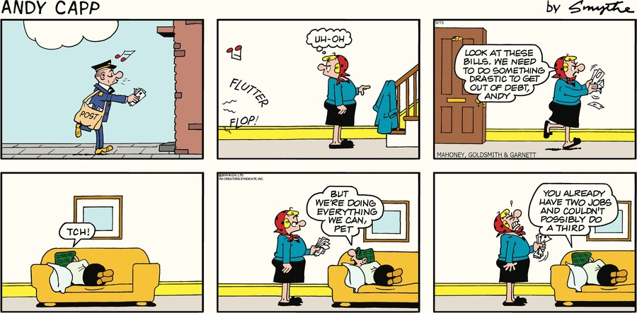Andy Capp by Reg Smythe for September 15, 2019