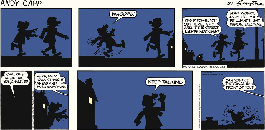 Andy Capp Comic Strip for February 22, 2015