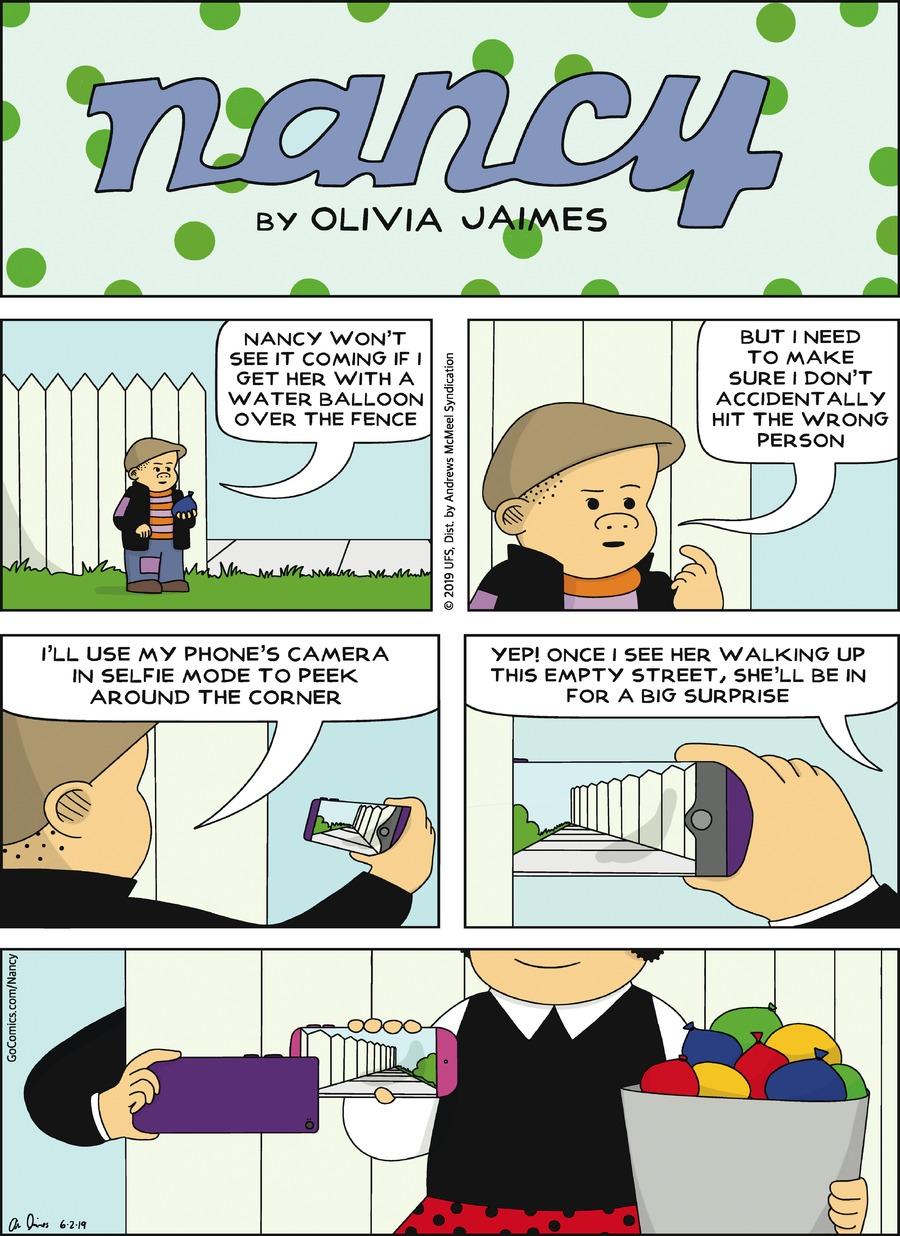 Nancy Comic Strip for June 02, 2019
