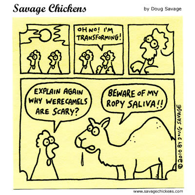 werecamel: Oh no! I'm transforming! 