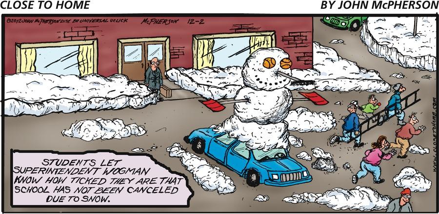 Close to Home for Dec 2, 2012 Comic Strip