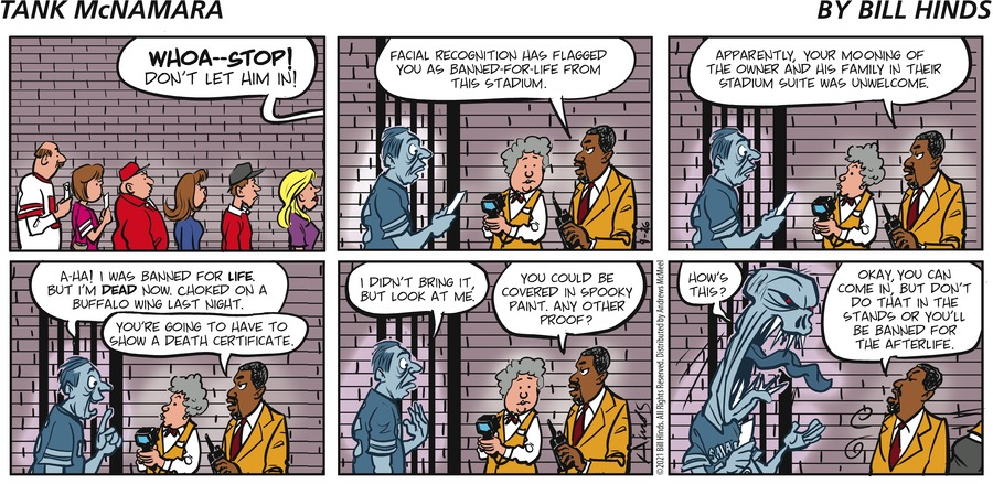 Tank McNamara Comic Strip for September 26, 2021