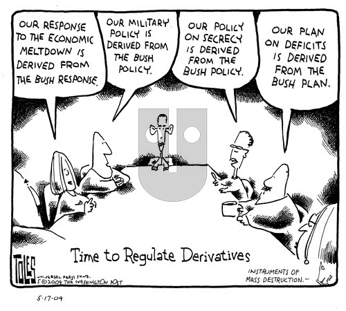 Tom Toles on Sunday May 17, 2009 Comic Strip