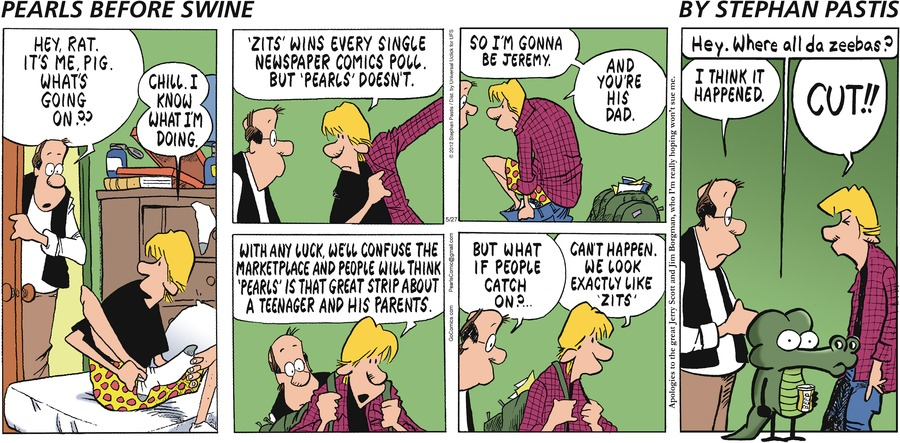 Pearls Before Swine Comic Strip for May 27, 2012