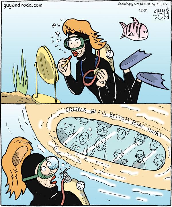 Brevity Comic Strip for December 31, 2009