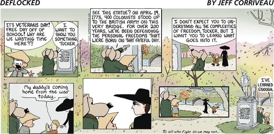 DeFlocked Comic Strip for November 07, 2010