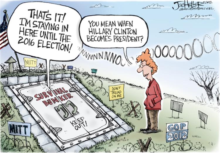 Joe Heller for Nov 8, 2012 Comic Strip