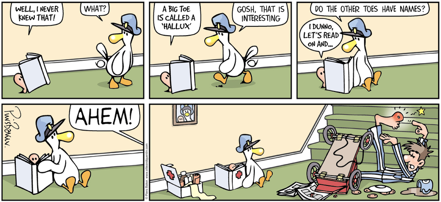 Ollie and Quentin Comic Strip for March 06, 2016