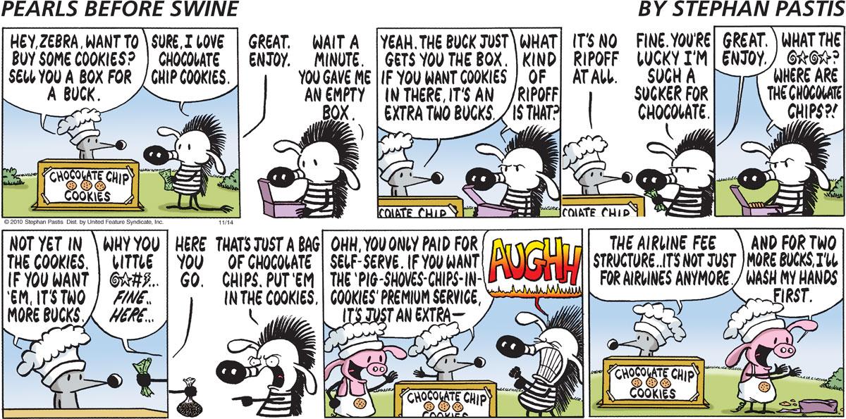 Pearls Before Swine Comic Strip for November 14, 2010
