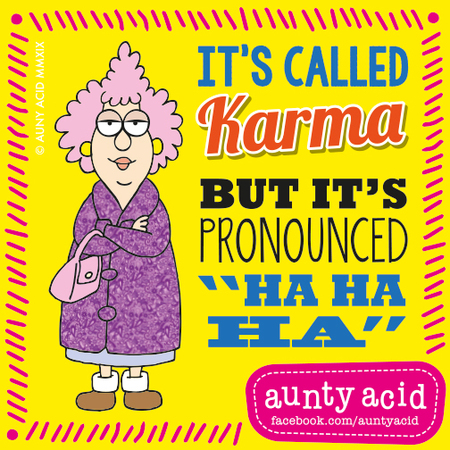 Aunty Acid by Ged Backland for February 27, 2019