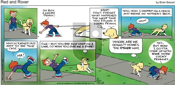 Red and Rover on Sunday August 2, 2020 Comic Strip