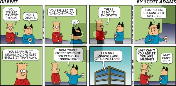 Dilbert on Sunday September 8, 2019 Comic Strip