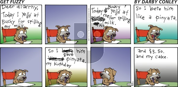 Get Fuzzy - Sunday July 5, 2020 Comic Strip