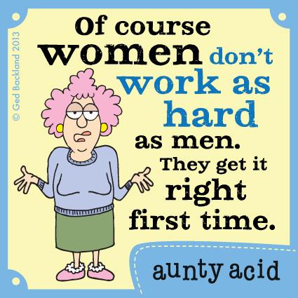 Aunty Acid for Sep 12, 2013 Comic Strip