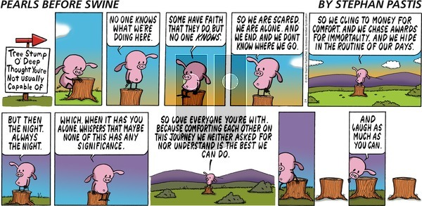 Pearls Before Swine - Sunday February 4, 2018 Comic Strip